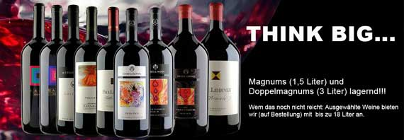 Think big: Magnums